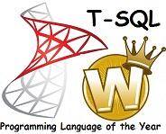 Язык года 2013 (T-SQL)